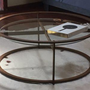 X-tray lounge coffee table